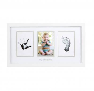 Babyprints Fotoram Vit ram