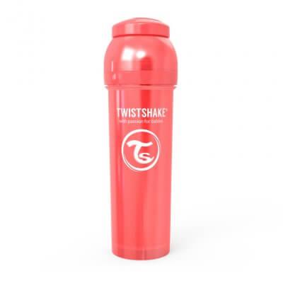 Twistshake Anti-Kolik 330ml Pearl Röd