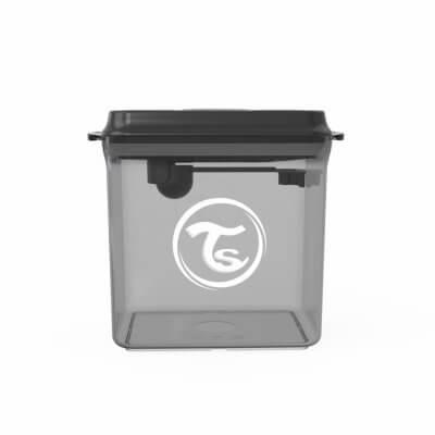 Twistshake Pulverbehållare 1700ml Black